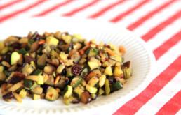 Caponata mit Zucchini und Auberginen von LuisaKocht