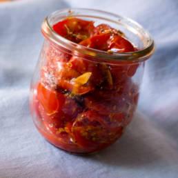 Rezept Kirschtomaten aus dem Ofen