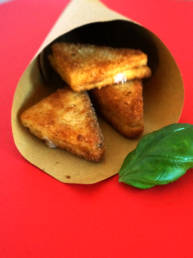 Streetfood Mozzarella in carrozza
