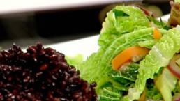 Rezept Schwarzer Venere Reis mit Wirsing Gemüse